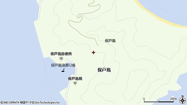 大分県津久見市保戸島1222周辺の地図