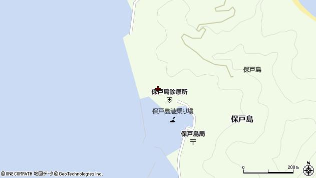 大分県津久見市保戸島870周辺の地図