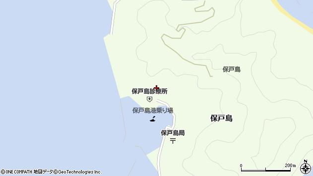 大分県津久見市保戸島884周辺の地図
