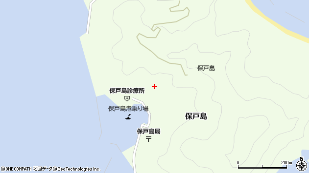 大分県津久見市保戸島1193周辺の地図
