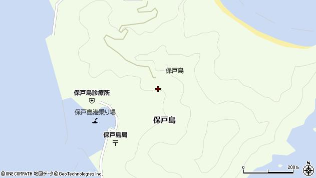大分県津久見市保戸島中ノ谷周辺の地図