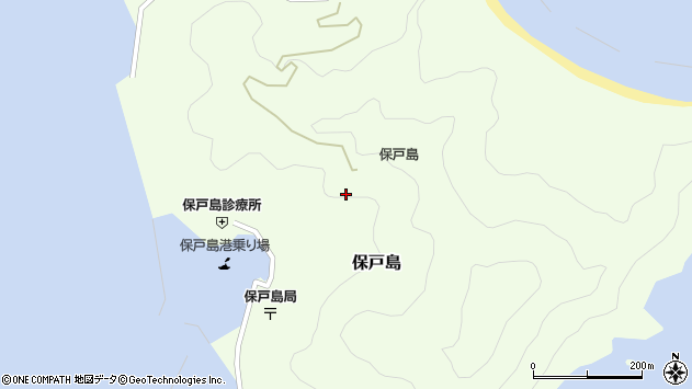 大分県津久見市保戸島1220周辺の地図