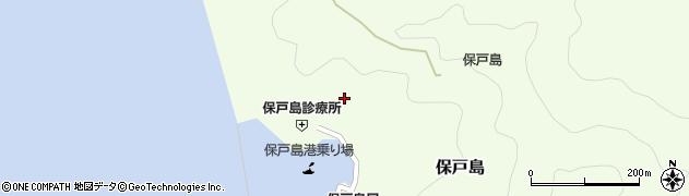 大分県津久見市保戸島971周辺の地図