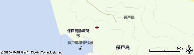 大分県津久見市保戸島980周辺の地図