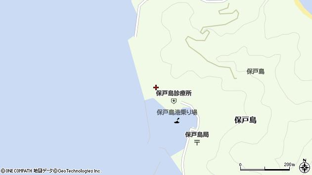 大分県津久見市保戸島866周辺の地図