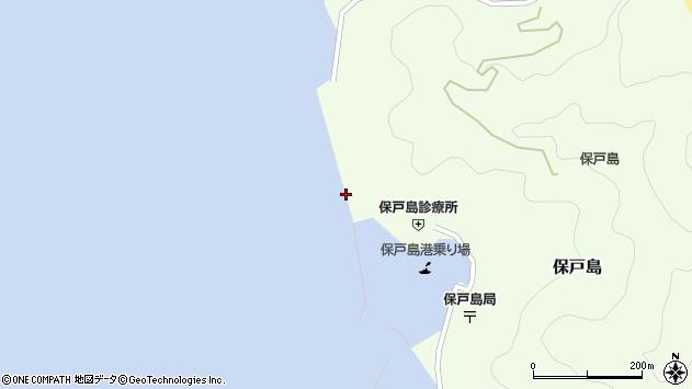 大分県津久見市保戸島854周辺の地図