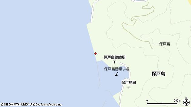 大分県津久見市保戸島855周辺の地図