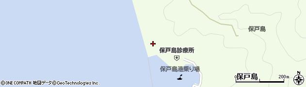 大分県津久見市保戸島861周辺の地図