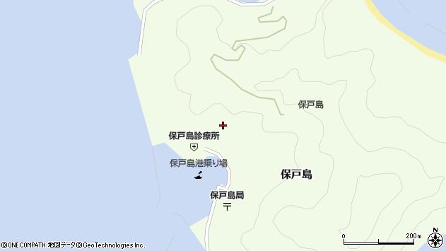 大分県津久見市保戸島975周辺の地図