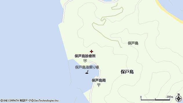 大分県津久見市保戸島895周辺の地図