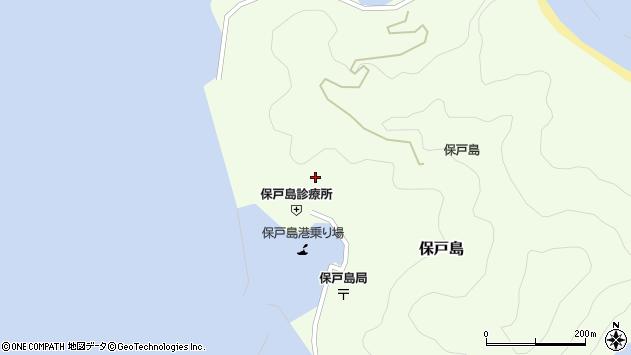 大分県津久見市保戸島893周辺の地図