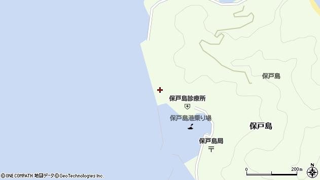 大分県津久見市保戸島857周辺の地図