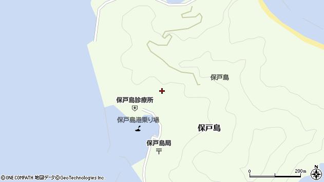 大分県津久見市保戸島981周辺の地図