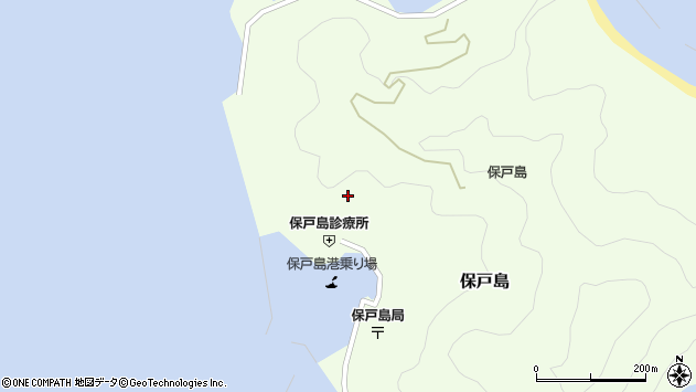 大分県津久見市保戸島897周辺の地図