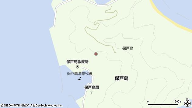 大分県津久見市保戸島989周辺の地図