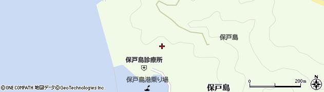 大分県津久見市保戸島950周辺の地図