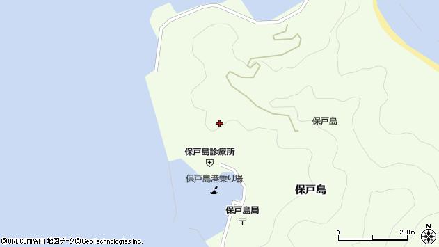 大分県津久見市保戸島908周辺の地図