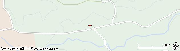 大分県竹田市直入町大字上田北2913周辺の地図