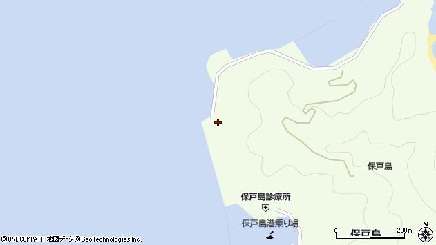 大分県津久見市保戸島804周辺の地図