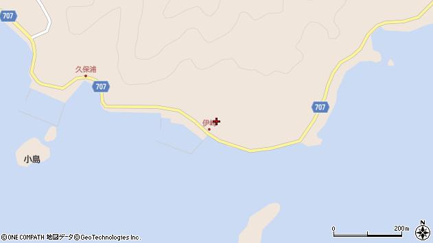 大分県津久見市長目2284周辺の地図