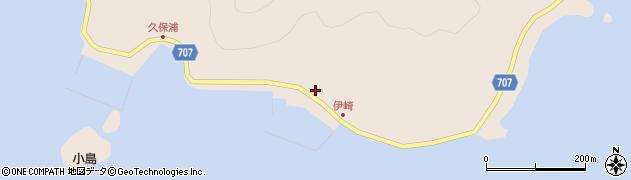 大分県津久見市長目2205周辺の地図
