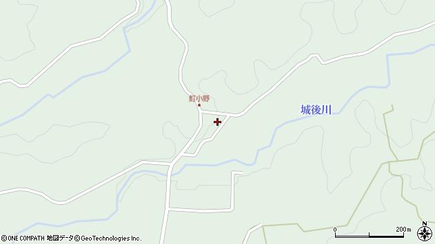 大分県竹田市直入町大字上田北2780周辺の地図