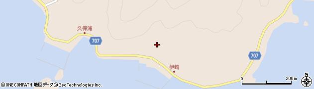 大分県津久見市長目2179周辺の地図