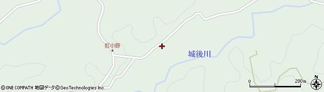大分県竹田市直入町大字上田北2727周辺の地図