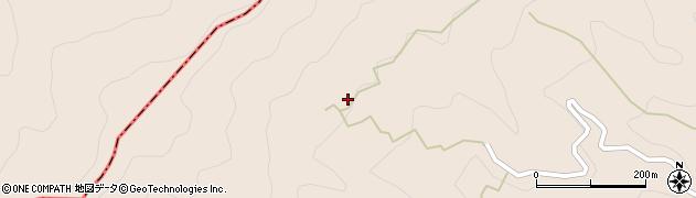 大分県津久見市長目799周辺の地図