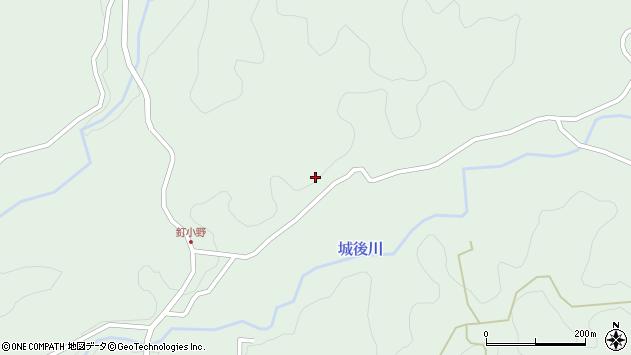 大分県竹田市直入町大字上田北2622周辺の地図