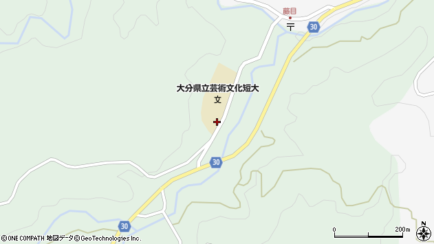 大分県竹田市直入町大字上田北2023周辺の地図