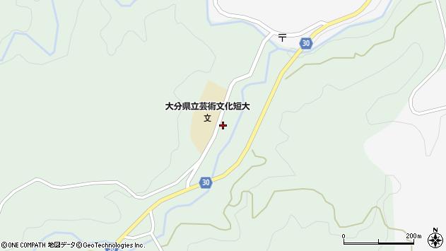大分県竹田市直入町大字上田北2011周辺の地図