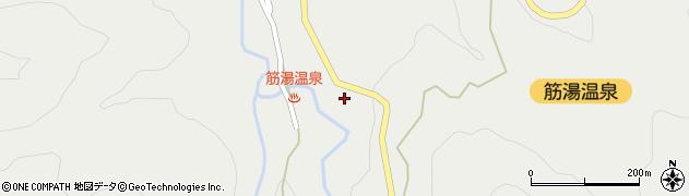 大分県玖珠郡九重町湯坪565周辺の地図