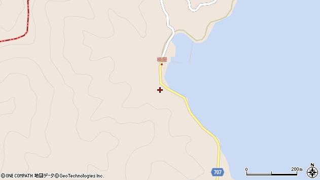 大分県津久見市長目2386周辺の地図