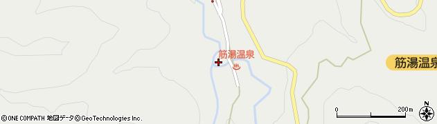 大分県玖珠郡九重町湯坪517周辺の地図