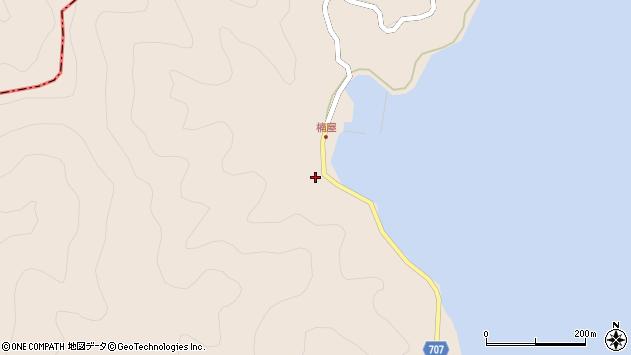 大分県津久見市長目2401周辺の地図
