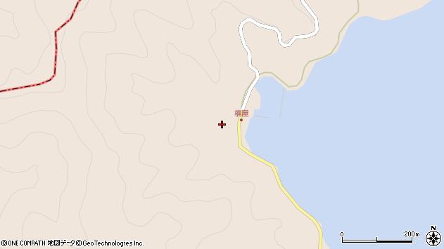 大分県津久見市長目2421周辺の地図