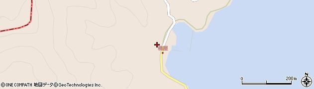 大分県津久見市長目2507周辺の地図