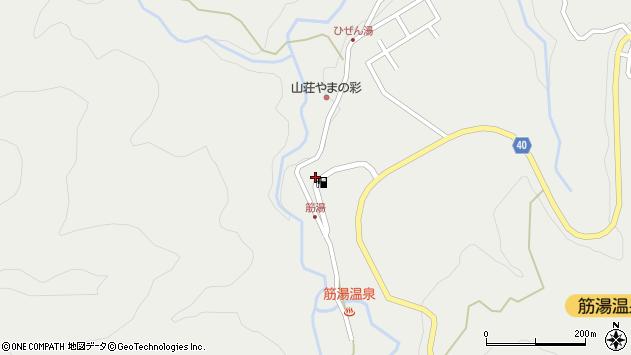 大分県玖珠郡九重町湯坪724周辺の地図