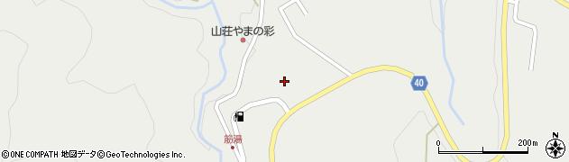大分県玖珠郡九重町湯坪739周辺の地図