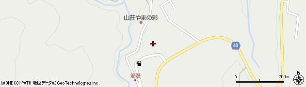 大分県玖珠郡九重町湯坪736周辺の地図
