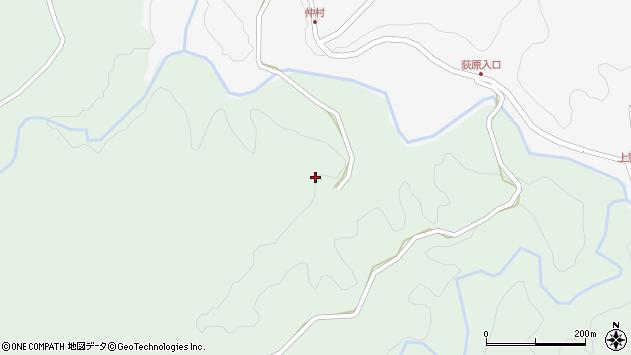 大分県竹田市直入町大字上田北4069周辺の地図