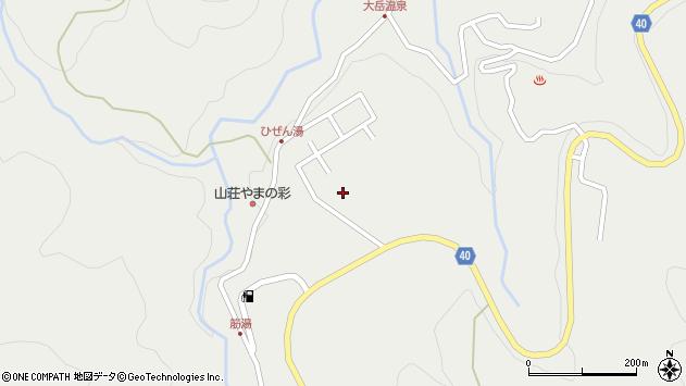 大分県玖珠郡九重町湯坪527周辺の地図