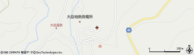 大分県玖珠郡九重町湯坪411周辺の地図