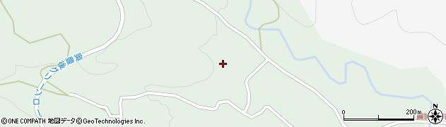 大分県竹田市直入町大字上田北5759周辺の地図