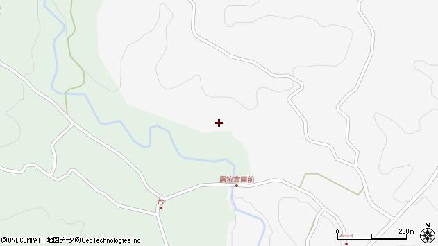 大分県竹田市直入町大字下田北70周辺の地図