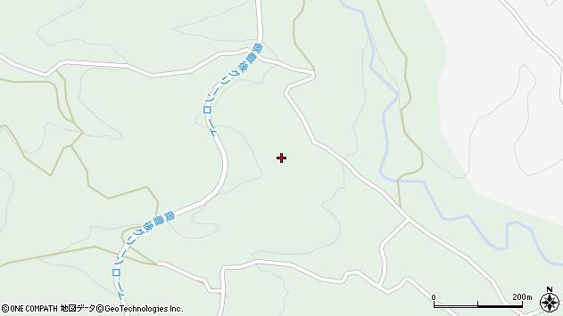 大分県竹田市直入町大字上田北5827周辺の地図