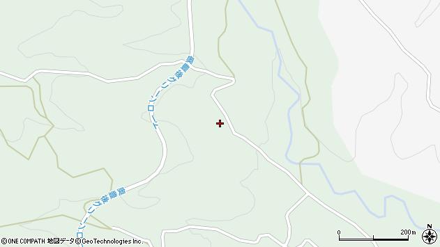 大分県竹田市直入町大字上田北5844周辺の地図
