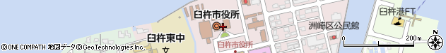 大分県臼杵市周辺の地図