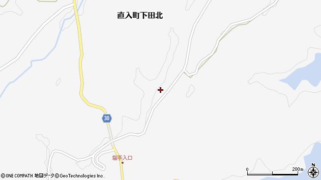大分県竹田市直入町大字下田北2894周辺の地図
